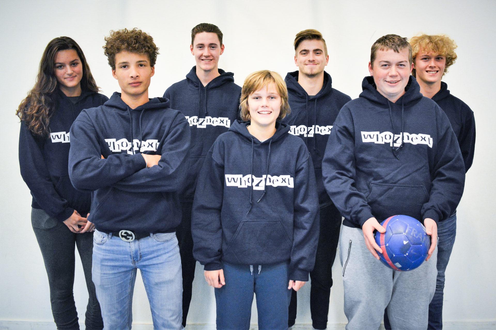 Met WhoZnext geeft Team Sportservice jongeren tussen de 13 en 20 jaar de mogelijkheid invloed uit te oefenen op de activiteiten bij hun sportvereniging.