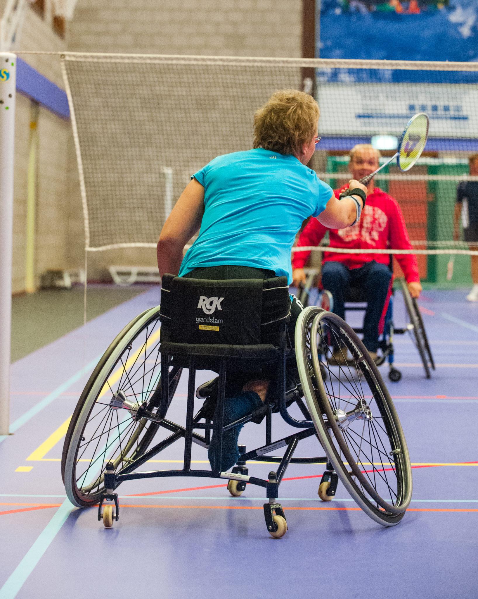 Zodat mensen met een beperking ook de kracht van sport en bewegen kunnen ervaren organiseer Team Sportservice bijeenkomsten Grenzeloos Actief