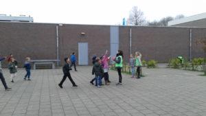 Door Move Mates geen conflicten maar samen spelen op het schoolplein